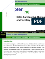 Chapter 10 Sales Forecasting, Quotas and Territory Management-Sales and Distribution Management (2)