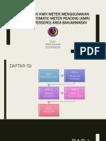 Pembacaan KWH Meter Menggunakan Sistem Automatic Meter Reading (AMR) di PT. PLN )Persero) Area Banjarmasin