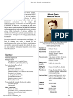 Nikola Tesla - Wikipedia, La Enciclopedia Libre