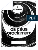 Os Céus Proclamam - Volume 01