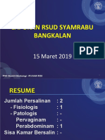 MR 15 Maret 2019