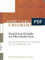 Copia de U2 - Nacion-y-estado-en-Iberoamerica-El-lenguaje-politico-en-tiempos-de-las-independencias-Jose-Carlos-Chiaramonte.docx
