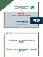Lista de Exercicio Complementar2