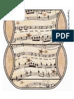 Cajas Para Armar Motivos Musicales