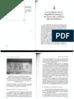 La República Roma- Manual Roma -Sociedad y política