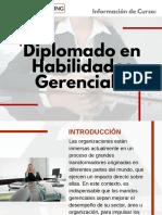 Diplomado en Habilidades Gerenciales