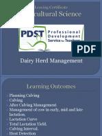 3 - Dairy Herd Management