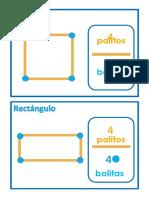 Tarjetas Con Diferentes Figuras Geometricas Dia 05 de Diciembre