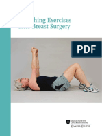 Stretching Exercises After Breast Surgery