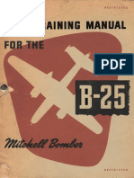 Pilot Training Manual for the Mitchell Bomber