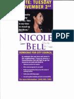 Nicole Paultre Bell Lit
