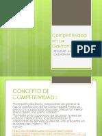 Competitividad en La Gastronomia