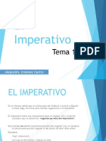 "Tema 15 - El Imperativo, diferencias entre ""Make"" y ""Do"""