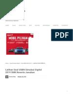 Latihan Soal USBN Simulasi Digital 2019 SMK Beserta Jawaban - ADMINISTRASI NGAJAR