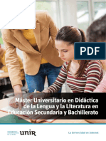 M O Didactica Lengua Educacion Secundaria Bachillerato Esp