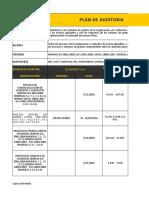Ejemplo de Auditoria for. Plan de Auditoria v.1