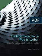 La Practica de La Paz Interior Ajahn Amaro