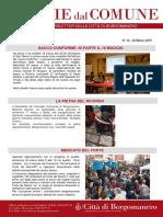 Notizie Dal Comune di Borgomanero del 22 Marzo 2019