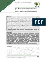 Zaú, A.S. 2014. A conservação de áreas naturais e o Ecoturismo.pdf