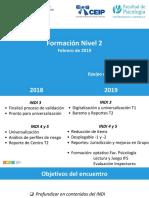Formación INDI N2 - Febrero 2019
