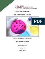 Guía de Práctica Microbiología 2019-I