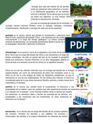 Conceptos Ciencias Botanica 3ro Basico Docx Ciencias De La