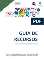 Guía de Recursos Del Programa Internet Sin Riesgos