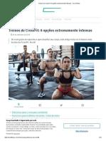 Treinos de CrossFit_ 6 Opções Extremamente Intensas - Sou Fitness