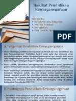 Hakikat Pendidikan Kewarganegaraan.pptx