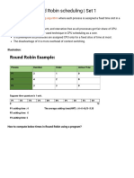 Program for Round Robin Scheduling _ Set 1