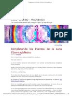 Completando Los Eventos de La Luna Cósmica_México