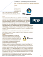 Feaures of Windows Operating Systems - Copy