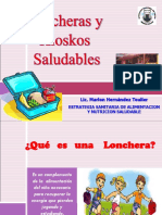LONCHERAS Y KIOSKOS SALUDABLES