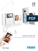 201903 Legrand Tegui Catálogo Tarifa 2019 Videporteros y Porteros