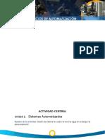 DESARROLLO Unidad 2.   Sistemas Automatizados.doc