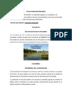 Fechas Ambientales Mundiales.docx