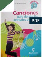 Canciones Para Desarrollar Actitudes Positivas GilEditores Preescolar _página_1