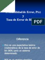Probabilidades de Error