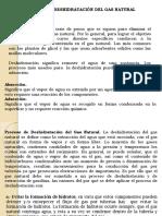 Tema 2 Deshidratacion Del Gas Natural