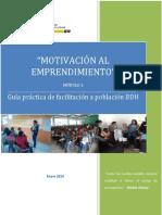 Guía Práctica de Facilitación-Módulo 1 _ Motivación Al Emprendimiento
