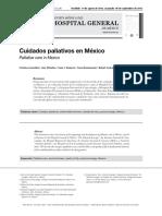 Cuidados Paliativos en México