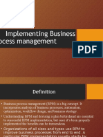 Implementing Business Process