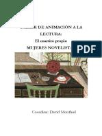 Taller de Animación a La Lectura- Mujeres- David Monthiel