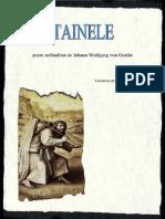 Goethe Tainele Poem