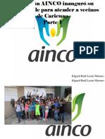 Edgard Raúl Leoni Moreno - Fundación AINCO Inauguró Su Primera Sede Para Atender a Vecinos deCaricuao, Parte I