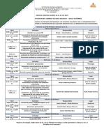 11. Agenda Semanal Marzo 26 Al 29 de 2019