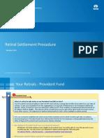 Retiral Settlements Process