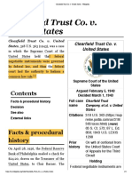 Clearfield Trust Co. v. United States