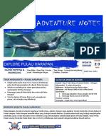 Explore Pulau Harapan