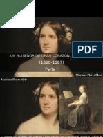 Mariana Flores Melo - Un ruiseñor de gran corazón, Jenny Lind 1820-1887, Parte I